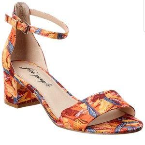 Free People Printed Marigold Sandals